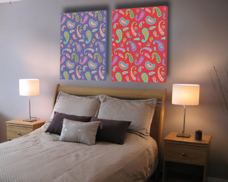 Art in Bedroom